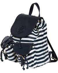 Tory Burch | Marion Printed Nylon Backpack | Lyst