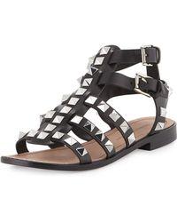 Rebecca Minkoff Sage Studded Leather Gladiator - Lyst