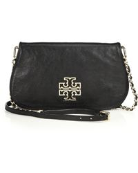 Tory Burch Britten Clutch - Lyst