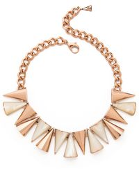 Sarah Magid - Cone Necklace, Mother Of Pearl - Lyst