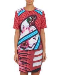 Mary Katrantzou Abstract Print T-Shirt - Lyst