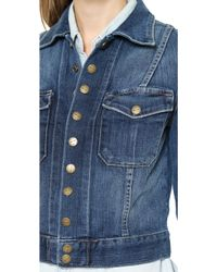 Current/Elliott The Snap Jacket - Loved - Lyst