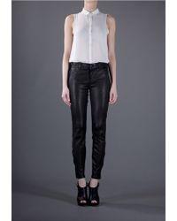 J Brand Super Skinny Leather - Lyst