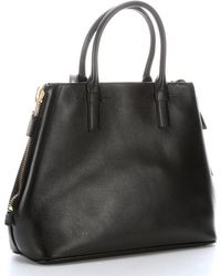 Tom Ford Black Leather Jennifer Small Tote Bag - Lyst