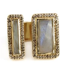 Maiyet Geometric Divided Sculpt Ring - Lyst