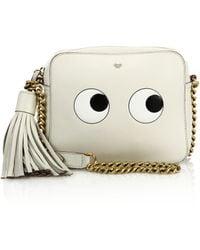 Anya Hindmarch   Eyes Leather Crossbody Bag   Lyst