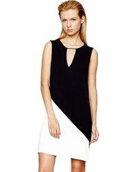 Addison Lara Asymmetrical Shift Dress - Lyst