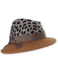 Grace Hats - Favori Fedora - Lyst