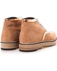 Nicholas Kirkwood - Suede Desert Boots - Lyst