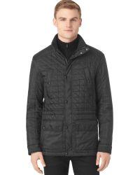 Calvin Klein Lightweight Nylon Quilted Fourpocket Jacket - Lyst
