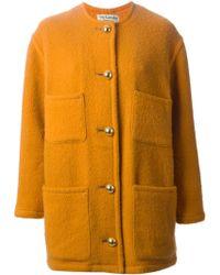 Guy Laroche Single Breasted Coat - Lyst