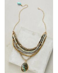 Avindy - Perlea Moonstone Necklace - Lyst