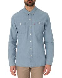 Levi's Worker Chambray Shirt - Lyst
