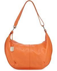 Furla Danielle Leather Hobo Bag - Lyst