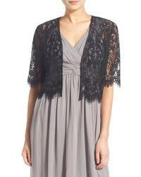 Glint Lace Shrug - Black