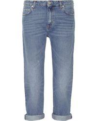 Acne Studios Pop Light Vintage Boyfriend Jeans - Lyst