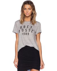 Obey Phys Ed Tee - Lyst