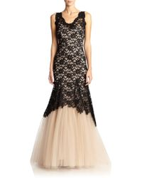 Nha Khanh Lolace Lace & Tulle Gown - Lyst