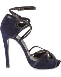 Hermès HermãˆS Strappy Platform Sandals - Lyst