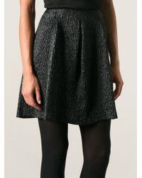 Philosophy di Alberta Ferretti Textured Skirt - Lyst