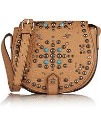 Rebecca Minkoff Mini Skylar Leather Shoulder Bag - Lyst