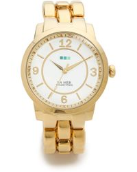 La Mer Collections - Tuscany Oversized Watch Gold - Lyst