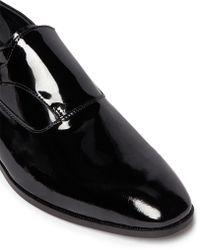 Artigiano - Patent Leather Monk Strap Shoes - Lyst