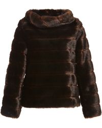 Harvey Faircloth - Mo Exclusive Faux Fur Pullover Top - Lyst