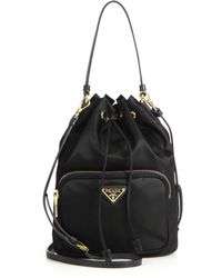 9bc676eca8376b ... buy prada tess mini backpack lyst 1ef09 4831d ...