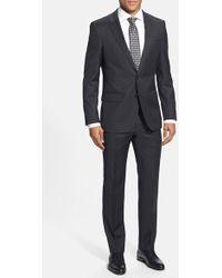 Hugo Boss 'Huge/Genius' Trim Fit Wool Suit gray - Lyst