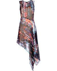 McQ by Alexander McQueen 34 Length Dress - Lyst