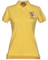 Ralph Lauren Yellow Polo Shirt - Lyst