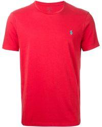 Polo Ralph Lauren Custom-fit Cotton T-shirt - Lyst