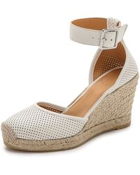 Marc By Marc Jacobs Summer Breeze D'Orsay Wedge Espadrilles - Talc - Lyst