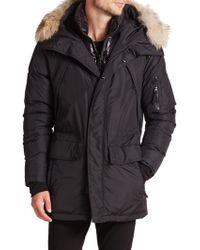 Sam. - Avalanche Fur-trimmed Down Parka - Lyst