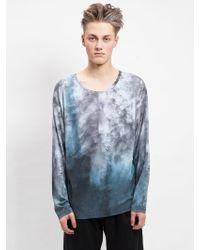 Blankblank Detifoss Unisex Long-Sleeved T-Shirt blue - Lyst