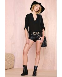 Nasty Gal Highland Blouse - Lyst