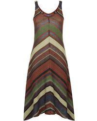 Ralph Lauren Blue Label - Isabella Serape Dress - Lyst