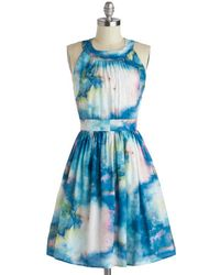 ModCloth Celestial Get Together Dress - Lyst