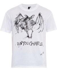 McQ by Alexander McQueen Untouchable Bat-Print T-Shirt - Lyst