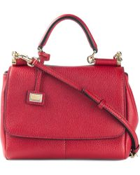Dolce & Gabbana Medium 'Sicily' Shoulder Bag - Lyst
