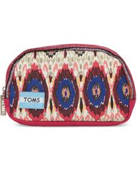 TOMS - Multi Stripe Mix Lagoon Cosmetic - Lyst