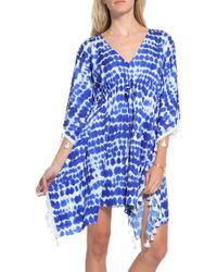Alexis Julia Dress blue - Lyst