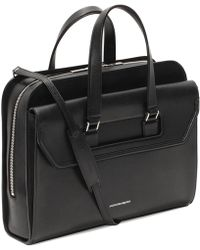 Alexander McQueen Leather Heroic Case - Black
