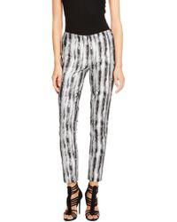 Donna Karan New York Side Zip Slim Pant - Lyst