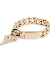 Givenchy Brass Shark Tooth Chain Bracelet - For Women - Lyst