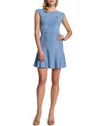 Cynthia Steffe Tamra Fit-and-flare Dress - Lyst