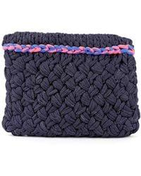 Wool And The Gang Hold Tight Trim Clutch - Lyst