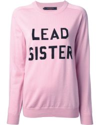 Sister by Sibling Lead Sister Sweater - Pink