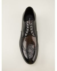 Dolce & Gabbana Laceup Brogues - Lyst